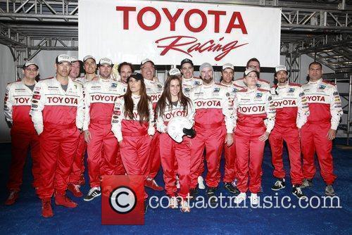 Celebrity racers The 36th Annual Toyota Pro/Celebrity Race...