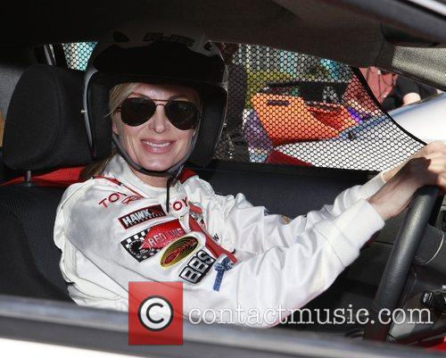 Eileen Davidson The 36th Annual Toyota Pro/Celebrity Race...