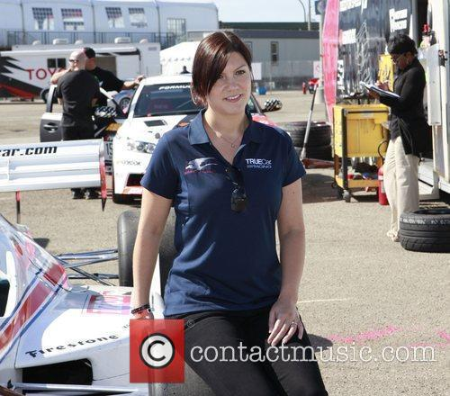 Katherine Legge The 36th Annual Toyota Pro/Celebrity Race...