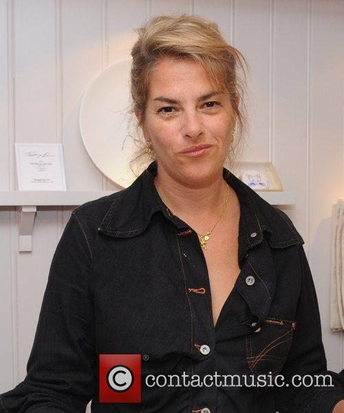 Tracey Emin at the launch of her new...
