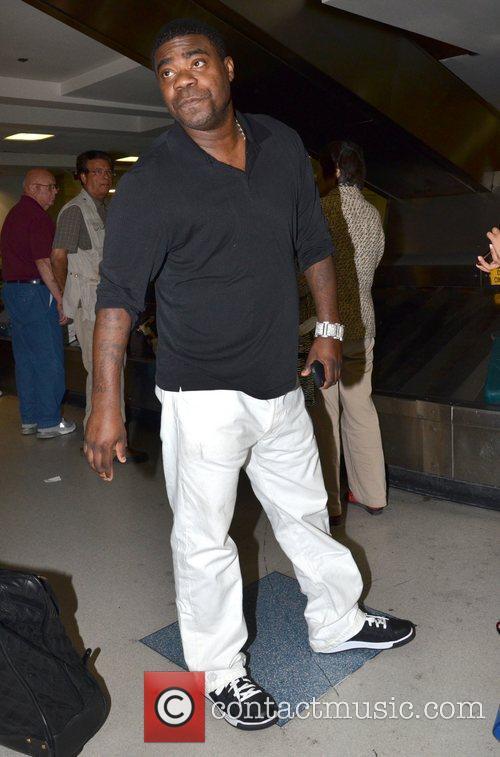 Tracy Morgan arrives at LAX airport Los Angeles,...