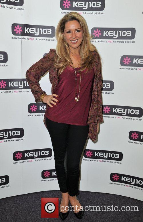 claire sweeney manchester trafford centre christmas lights 4156370