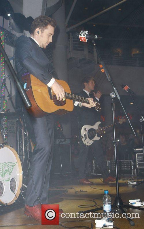 Danny Jones and Mcfly 2