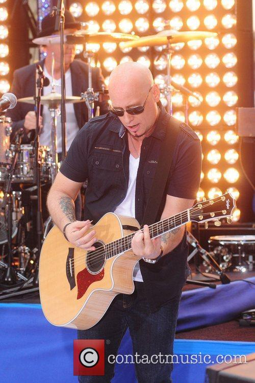 Train performing live during the 'Today Show' Summer...