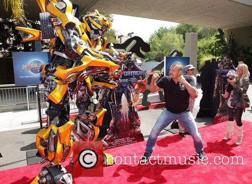 Chuck Liddell World Premiere Of Universal Studios Hollywood's...