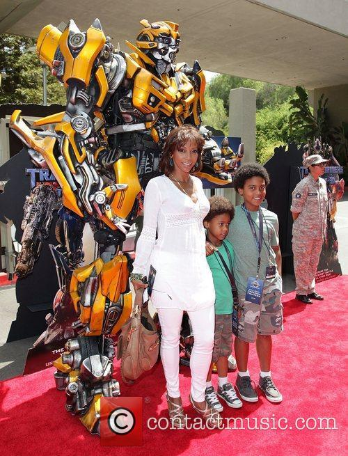 Holly Robinson Peete and children World Premiere Of...