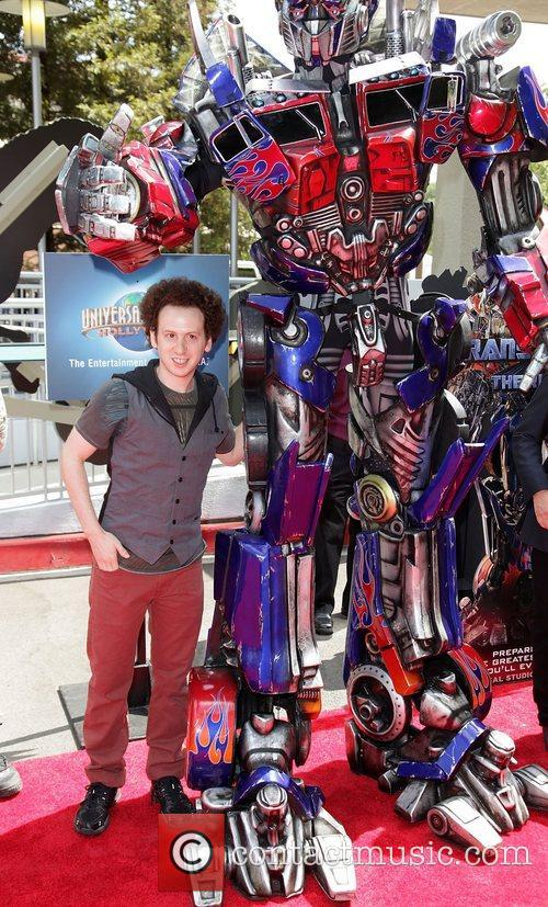 Josh Sussman World Premiere Of Universal Studios Hollywood's...