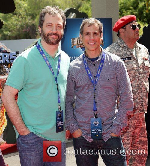 Judd Apatow and Barry Mendel 2
