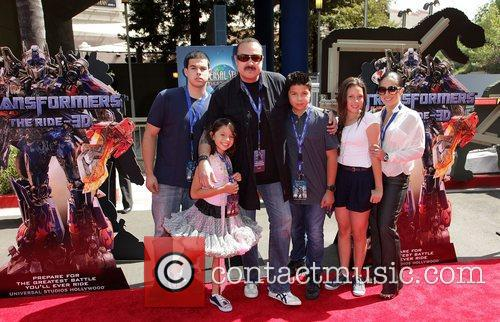 Pepe Aguilar and family World Premiere Of Universal...