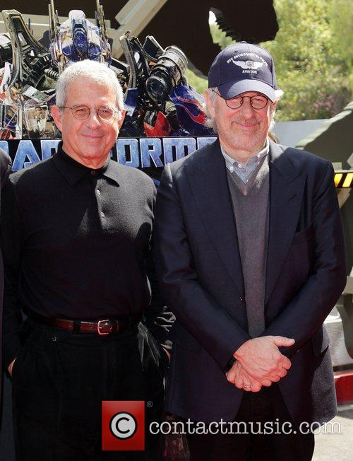 Ron Meyer and Steven Spielberg World Premiere Of...