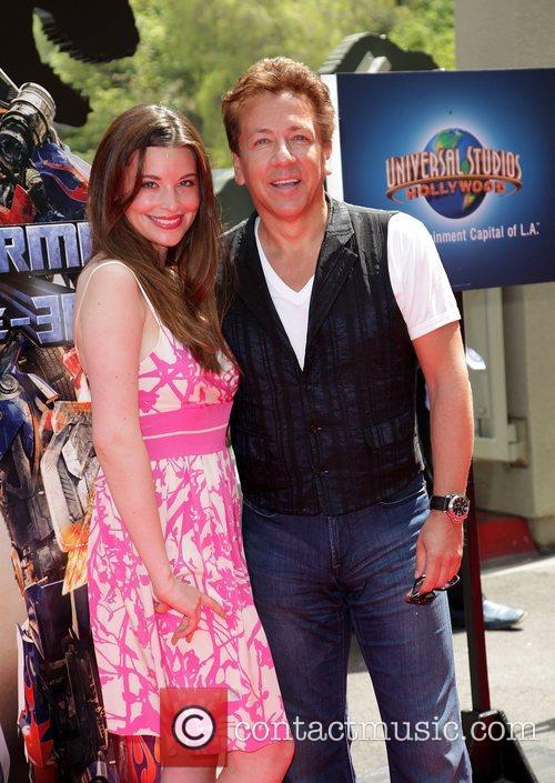 Ross King and guest World Premiere Of Universal...