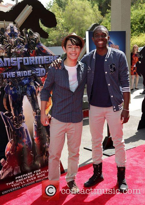 Ryan Potter and Carlos Knight World Premiere Of...