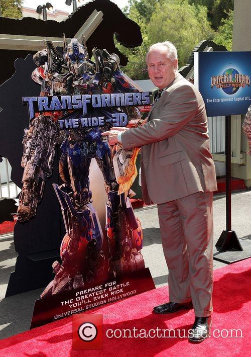 Tom LaBonge World Premiere Of Universal Studios Hollywood's...