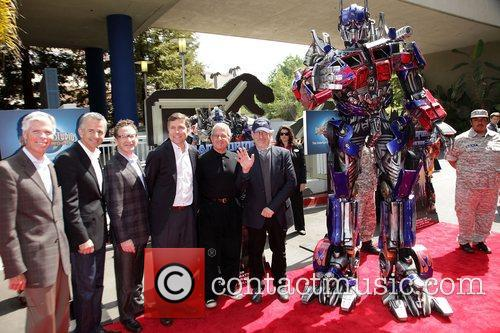 World Premiere Of Universal Studios Hollywood's Transformers: The...