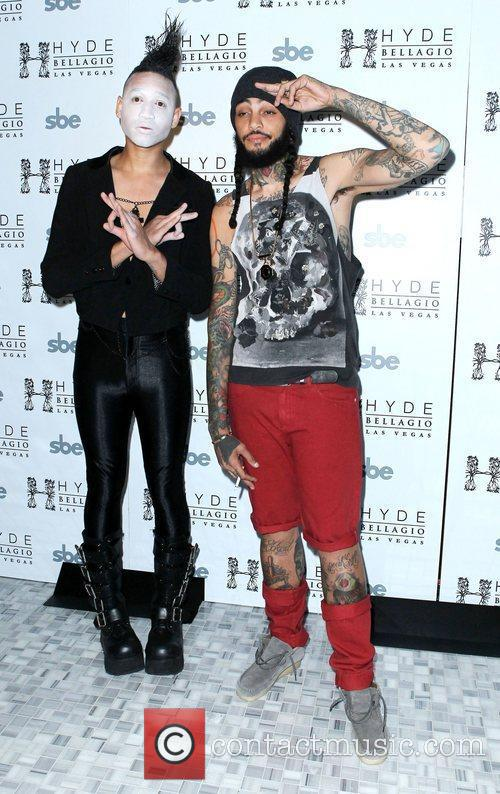 Travie McCoy of Gym Class Heroes at Hyde...