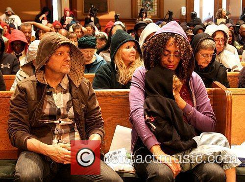 Special service for Trayvon Martin at Middle Collegiate...
