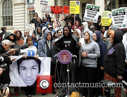 New York City Council Members press conference in...