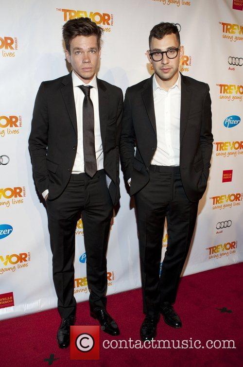 Nate Ruess and Jack Antonoff 3