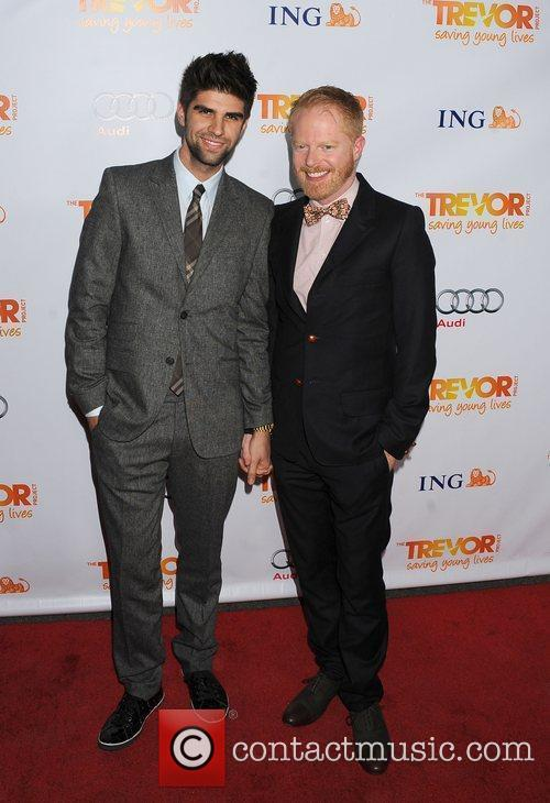 Jesse Tyler Ferguson and Dustin Lance Black 2