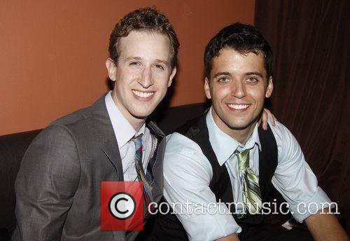 Alex Wyse and Marshall Pailet  Opening night...
