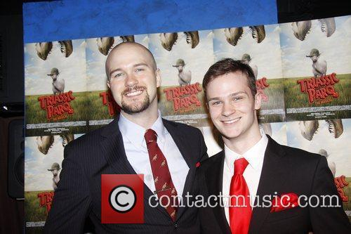 Lee Seymour and Alec Seymour  Opening night...