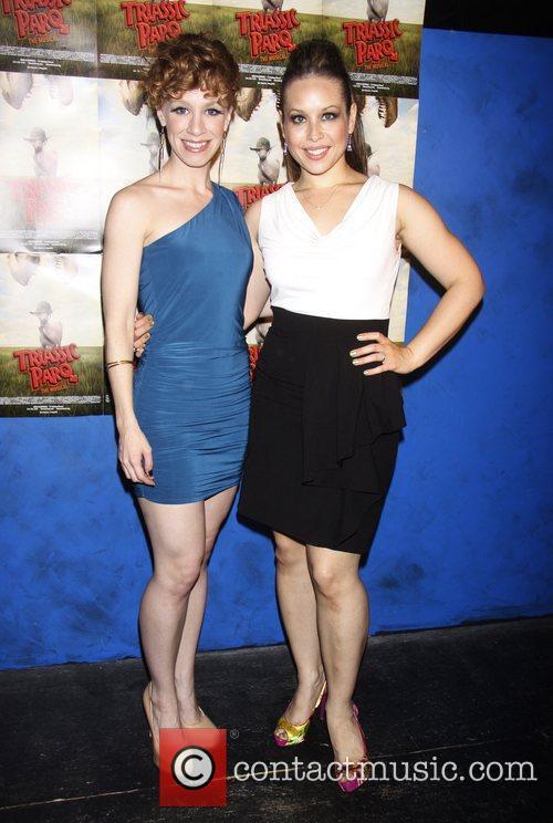 Lindsay Nicole Chambers and Shelley Thomas  Opening...