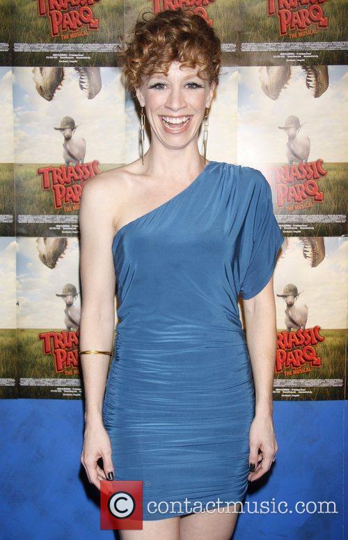 Lindsay Nicole Chambers  Opening night of 'Triassic...