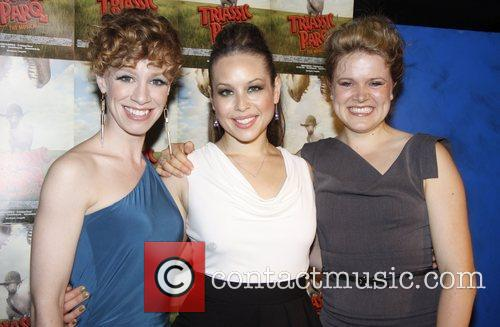 Lindsay Nicole Chambers, Shelley Thomas and Claire Neumann...