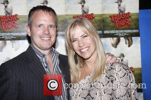 Scott Seay and Gayle Seay  Opening night...