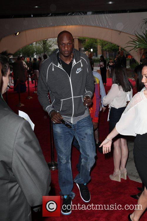 Lamar Odom and Tribeca Film Festival 2