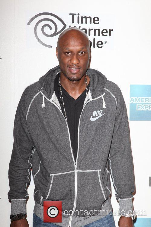 Lamar Odom and Tribeca Film Festival 1