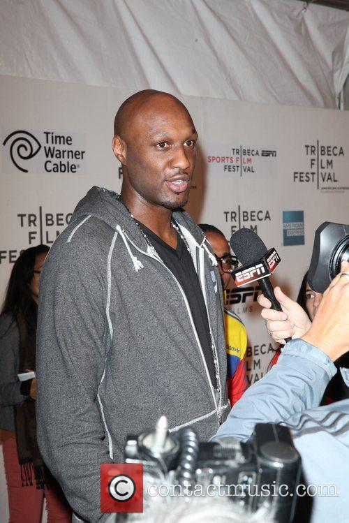 Lamar Odom and Tribeca Film Festival 6