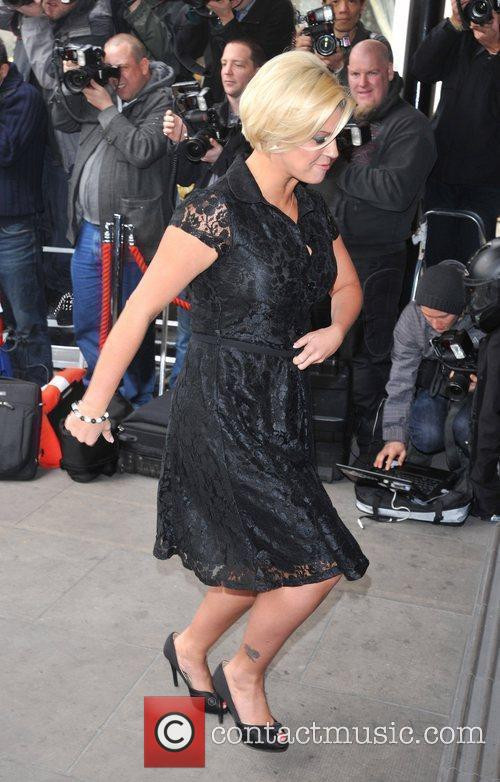 Kerry Katona and Grosvenor House 2