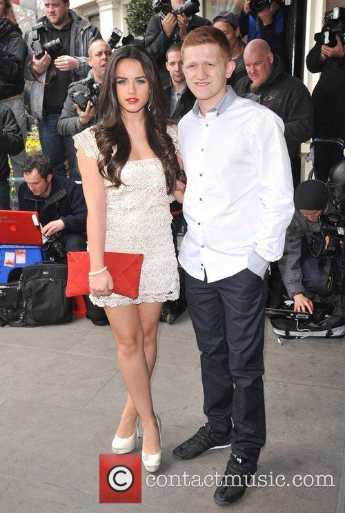 Georgia Foote and Sam Aston The TRIC Awards...