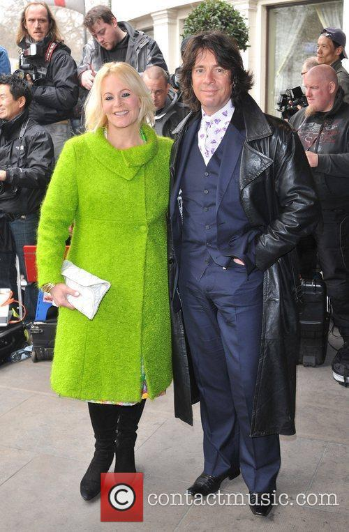 Lawrence Llewelyn-Bowen and guest The TRIC Awards held...
