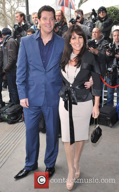 Linda Lusardi and guest The TRIC Awards held...