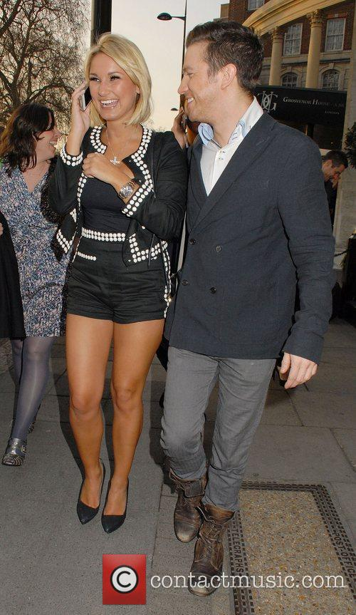 Sam Faiers and Grosvenor House 11