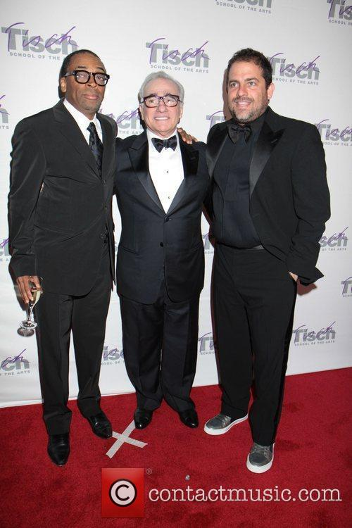 Spike Lee, Brett Ratner and Martin Scorsese 1