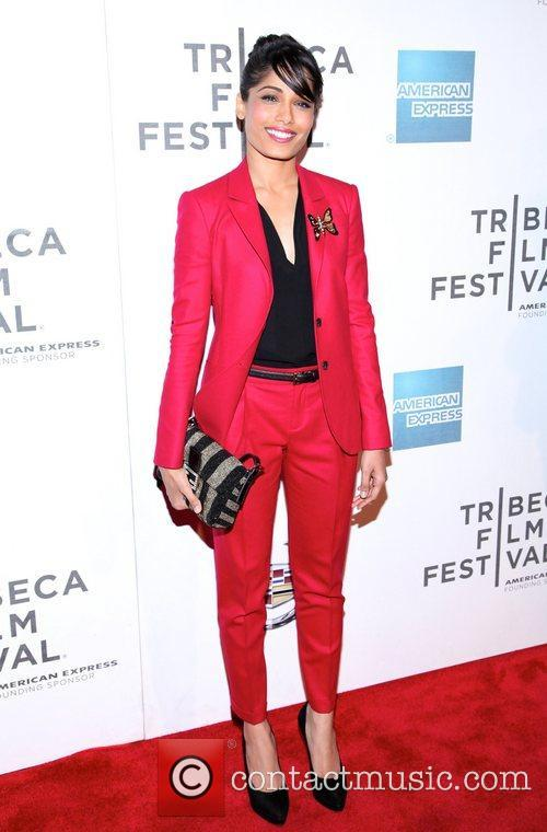 Freida Pinto and Tribeca Film Festival 13