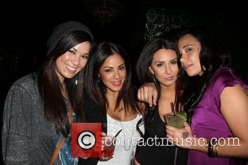 Nicole Marie (L) Rachel Rodriguez (R) and Guests...
