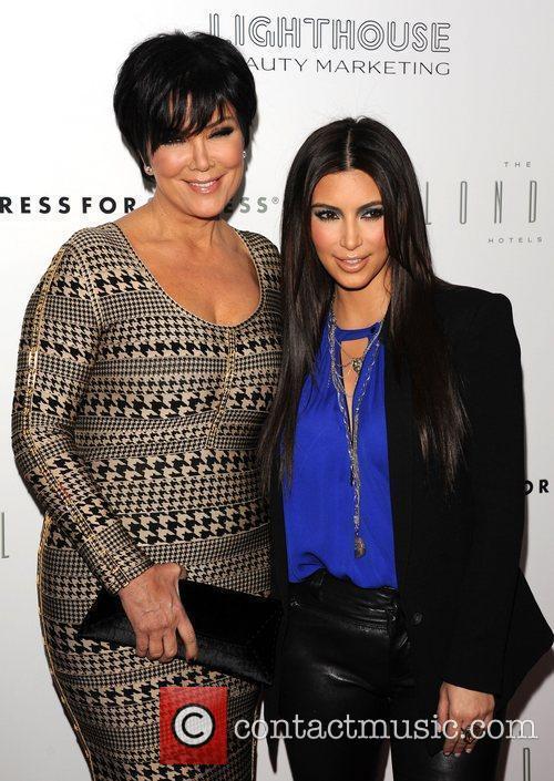 kris jenner and Kim Kardashian 1