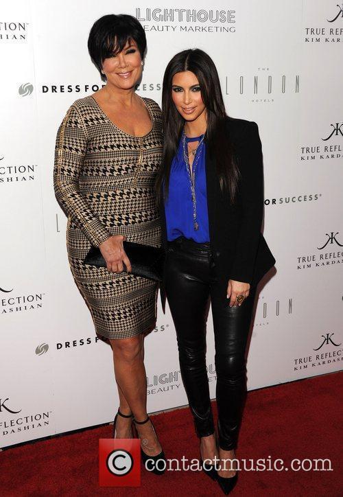 kris jenner and Kim Kardashian 2