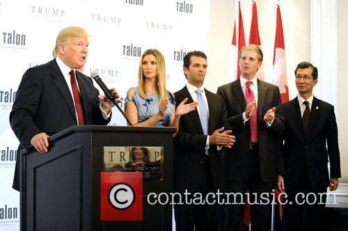 Donald Trump, Donald Trump Jr, Eric Trump and Ivanka Trump 2