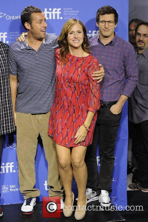 Adam Sandler, Andy Samberg and Molly Shannon 2
