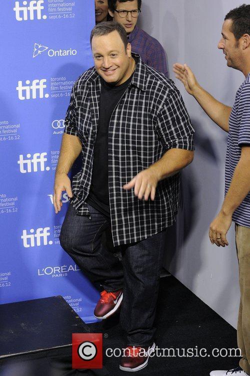 Kevin James  'Hotel Transylvania' press conference photo...
