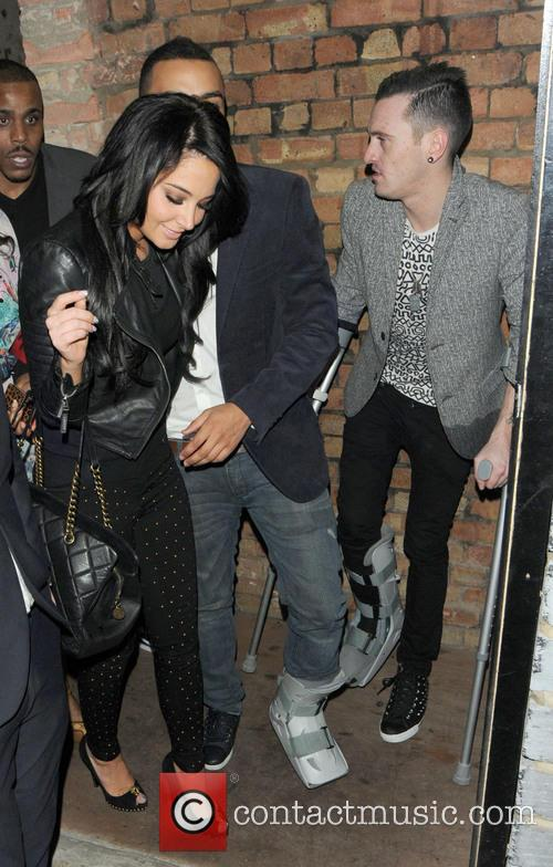 Tulisa Contostavlos and Danny Simpson 9