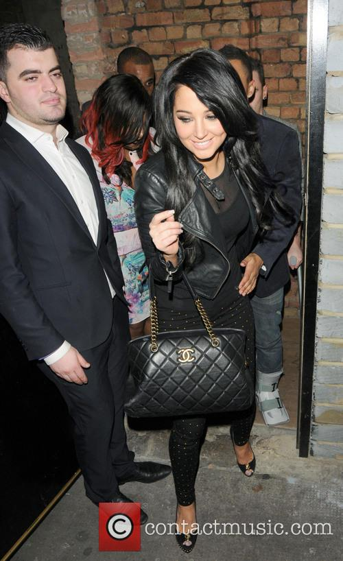 Tulisa Contostavlos and Danny Simpson 5