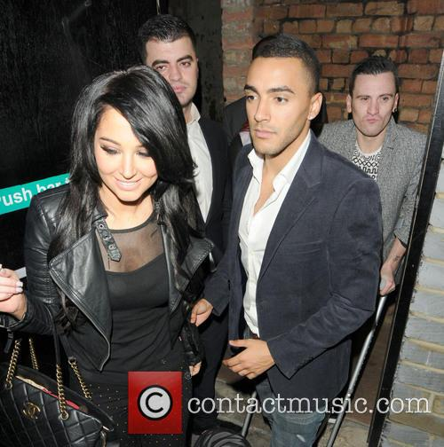 Tulisa Contostavlos and Danny Simpson 8
