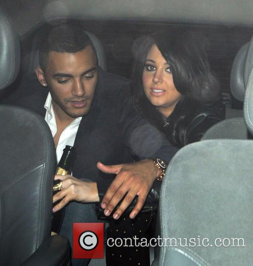 Tulisa Contostavlos and Danny Simpson 6
