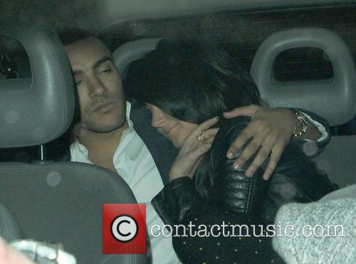 Tulisa Contostavlos and Danny Simpson 4